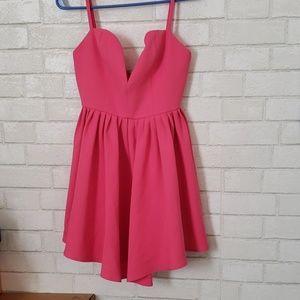 Nbd pink dress